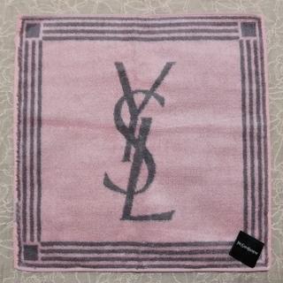 イヴサンローランボーテ(Yves Saint Laurent Beaute)の新品♪イブサンローラン♪海島綿♪ハンドタオル 日本製 タオルハンカチ(ハンカチ)
