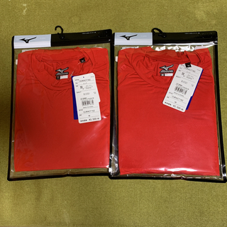 MIZUNO - 新品未使用品!MIZUNO ミズノ 広島東洋カープ アンダーシャツ 2枚セット