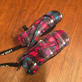 ロキシー(Roxy)の専用 美品 キッズROXYスキー手袋 サイズS(手袋)