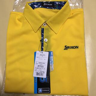 Srixon - 【送料無料】SRIXON スリクソン メンズ 半袖ポロシャツ イエロー Mサイズ