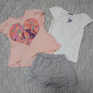 アナスイミニ(ANNA SUI mini)の専用☆アナスイミニ 3点セット 100㎝ ⑦(Tシャツ/カットソー)