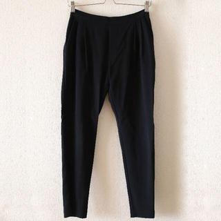 エヴァムエヴァ(evam eva)のevam eva cotton wool easy tack pants(クロップドパンツ)