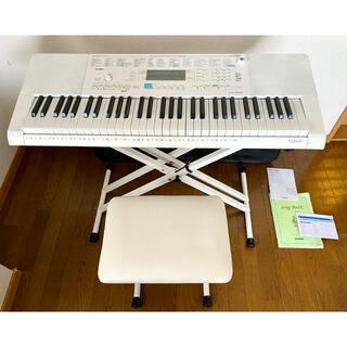 CASIO - CASIO 61鍵盤 光ナビゲーションLK-223 電子ピアノスタンドイスセット