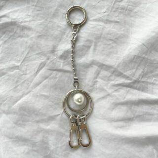 ジエダ(Jieda)の pearl key  ring(キーホルダー)