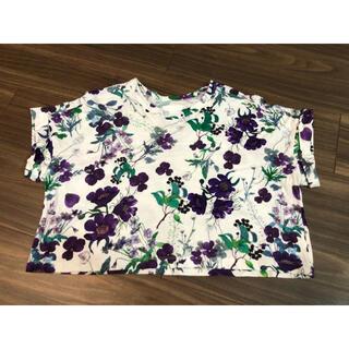 マメ(mame)のmame  kurogouchi 花柄半袖カットソー(Tシャツ(半袖/袖なし))