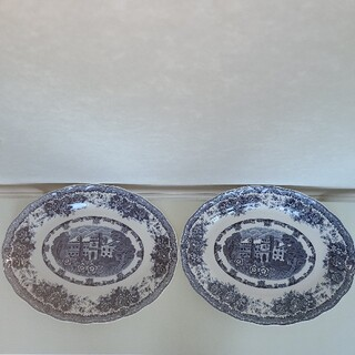 ニッコー(NIKKO)のNIKKOのオーバル・パ-ティ-オ-ドブルプレート大皿2枚セット☆未使用品☆(食器)