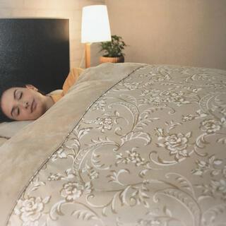 シャルレ(シャルレ)の贅沢掛け布団カバー、光電子繊維で圧倒的な暖かさ‼️(シーツ/カバー)