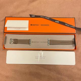 Hermes - 新品 アップルウォッチ 40mm 本革ベルト エルメス エトゥープ hermes