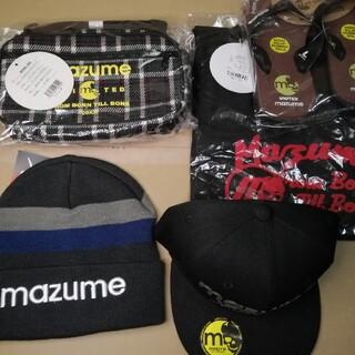 マズメ mazume アパレル5点セット トレーナー 帽子 キャップ サンダル(ウエア)