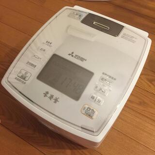 三菱電機 - 本炭釜 三菱 炊飯器 NJ-VW107-W 本体のみ