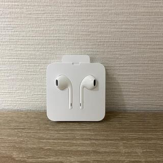 アップル(Apple)のiPhone 純正イヤホン 新品未使用(ヘッドフォン/イヤフォン)