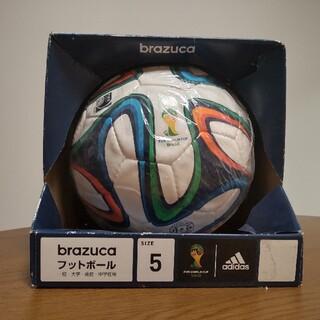 アディダス(adidas)のアディダス サッカーボール 5号球 検定球 ブラズーカ brazuka(ボール)