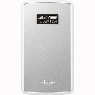 エヌイーシー(NEC)の【新品】Aterm モバイルルーター MP02LN SW(PC周辺機器)