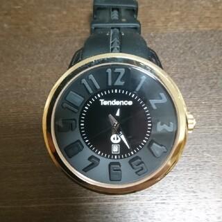 テンデンス(Tendence)のテンデンス Tendence 腕時計 黒×金(腕時計(アナログ))