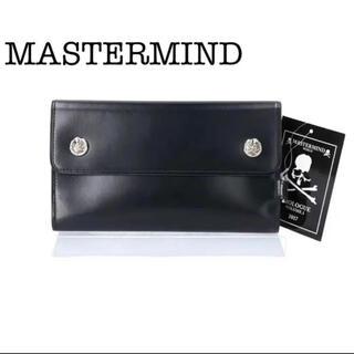 マスターマインドジャパン(mastermind JAPAN)の【新品・未使用品】MASTERMIND WORLD  メンズ 長財布 タグ・箱付(長財布)