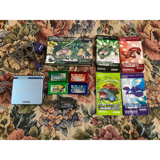 ゲームボーイアドバンス(ゲームボーイアドバンス)のゲームボーイSP+ポケモンカセット(携帯用ゲーム機本体)