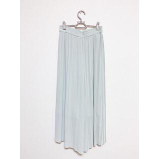 ユニクロ(UNIQLO)のUNIQLO シフォンプリーツスカートパンツ(その他)