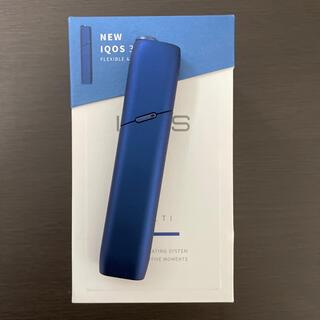 IQOS アイコス マルチ3  ブルー(タバコグッズ)