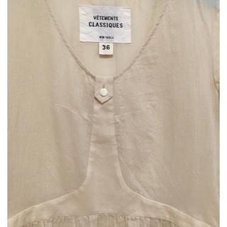 ウィムニールス(WIM NEELS)のWIM NEELS 麻混 トップ36(シャツ/ブラウス(半袖/袖なし))