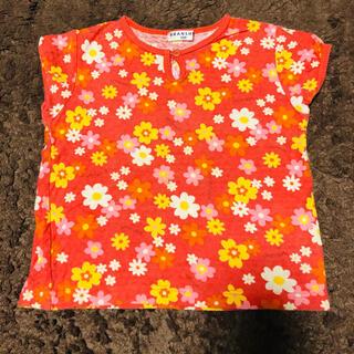 ブランシェス(Branshes)のブランシェス 100お花柄トップス(Tシャツ/カットソー)