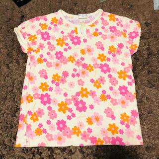 ブランシェス(Branshes)のブランシェス 110 お花柄トップス(Tシャツ/カットソー)