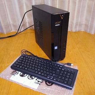 エイサー(Acer)のAcer Aspire XC-885-N38F 第8世代スリムデスクトップ 美品(デスクトップ型PC)