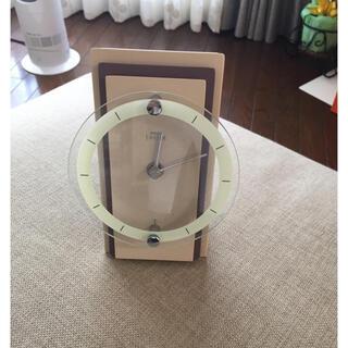 セイコー(SEIKO)のSEIKO エンブレム 置き時計美品(置時計)