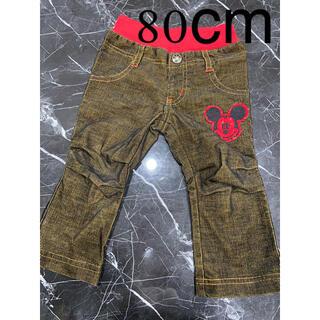 ディズニー(Disney)の長ズボン 80cm ミッキー(パンツ)