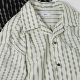 ALLEGE - 定価31320円 Allege オープンカラーストライプシャツ