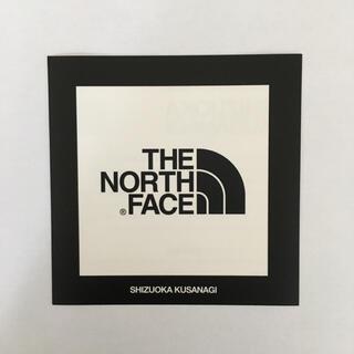 ザノースフェイス(THE NORTH FACE)の【非売品】THE NORTH FACE ロゴステッカー ホワイト(その他)
