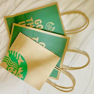 スターバックスコーヒー(Starbucks Coffee)のショップ袋 スターバックス ボディショップ(ショップ袋)
