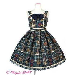 アンジェリックプリティー(Angelic Pretty)のAntique Crown ジャンパースカート(ひざ丈ワンピース)