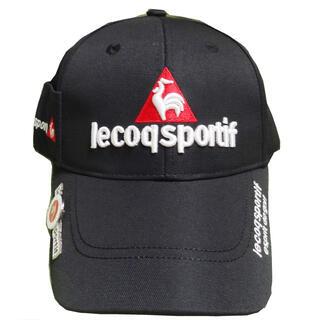 le coq sportif - 新品 ルコック レインキャップ 黒/マーカーつき! ゴルフ キャップ 帽子