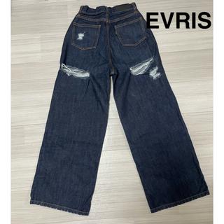 エヴリス(EVRIS)のEVRIS ワイドパンツ(デニム/ジーンズ)