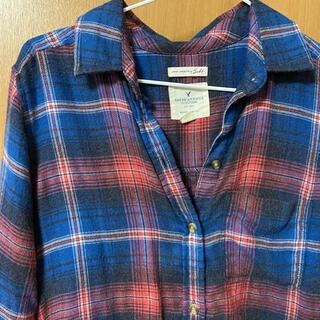 アメリカンイーグル(American Eagle)のアメリカンイーグル チェックシャツ XS(シャツ/ブラウス(長袖/七分))