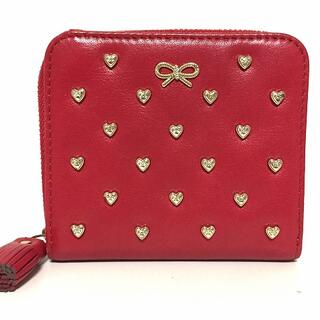 アニヤハインドマーチ(ANYA HINDMARCH)のアニヤハインドマーチ 2つ折り財布美品  -(財布)