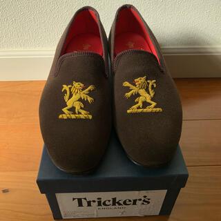 トリッカーズ(Trickers)のほぼ新品未使用 Trickers CHURCHILL スリッポン UK6(スリッポン/モカシン)