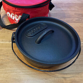 ロゴス(LOGOS)のロゴス ダッヂオーブン LOGOS  8インチ(調理器具)