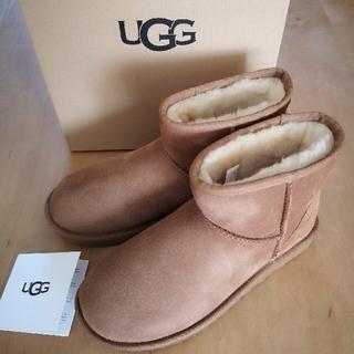 アグ(UGG)の新品 24cm UGG ムートンブーツ クラシック ミニ II チェスナット(ブーツ)