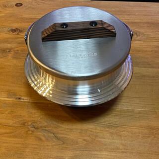 ユニフレーム(UNIFLAME)のユニフレーム 羽釜 カマド 美品(調理器具)