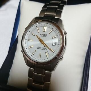 カシオ(CASIO)のCASIO 電波ソーラー メンズ レディース 腕時計(腕時計(アナログ))