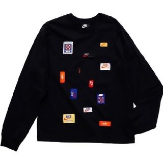 NIKE - ♡NIKE♡ロゴワッペン♡ロングスリーブTシャツ♡サイズS