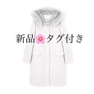 プロポーションボディドレッシング(PROPORTION BODY DRESSING)の プロポーション 新品🌸 2wayファーフードコート(ロングコート)