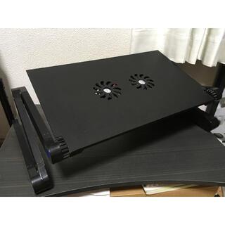 ノートパソコンスタンド パソコンデスク(折たたみテーブル)