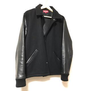 シュプリーム(Supreme)のsupreme 11aw fw miners jacket 黒 M(レザージャケット)