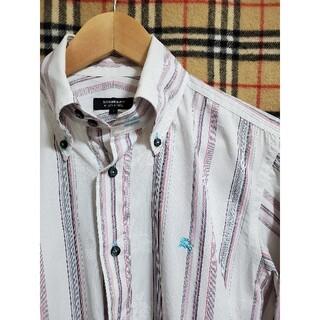 BURBERRY BLACK LABEL - ■美品 ▼ドレスシャツ カジュアルシャツ