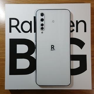 ラクテン(Rakuten)のRakuten BIG(ZR01) ホワイト 楽天5G対応(スマートフォン本体)
