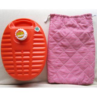 湯たんぽ 中綿入り カバー付き 保温 防寒 寝具 湯タンポ こたつ 冷え症 暖(その他)