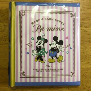 ディズニー(Disney)のJULLY様専用 ナカバヤシ ミッキー&ミニー 背丸ブック式アルバムL判2段(アルバム)