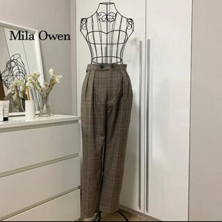Mila Owen - 【美品】ミラオーウェン チェックスカート
